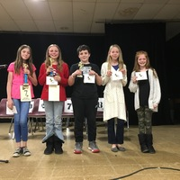 Hector Spelling Bee Winners
